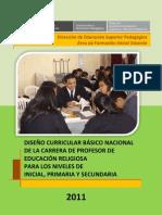 DCBN2011 Educacion Religiosa