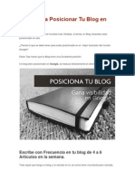 3 Tips Para Posicionar Tu Blog en Google