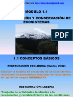 Restauracion y Conservacion de Ecosistemas