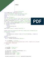 Geolocalización código HTML5