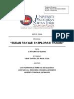 Kertas Kerja Sukan Rakyat 2012