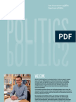 UNIVERSITY OF YORK, POLITICS - Politics Brochure