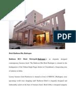 Radiisson Rudrapur Hotel