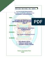 INFORME 08_Estudio de Penetacion de Calor - Determinacion de Fo en Conservas de Pollo[1]