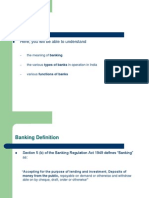 Banks and Their Basic Functions