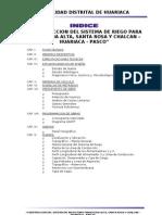 Indice y Ficha Tecnica