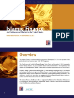 Sponsorship Prospectus - Islamic Finance Conference 2013