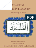 Classical Arabic Philosophy an Anthology of Sources