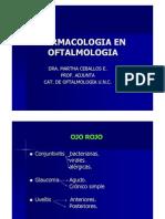 Farmacologia en Oftalmologia