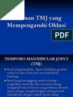 Kelainan TMJ Yang Mempengaruhi Oklusi