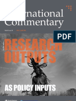 Commentary Research Issue July 2013