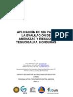 Caso de Estudio Tegucigalpa_GIS RIESGOS