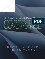 A Real Look at Real World Corp Gov