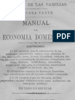 Manual de Economia Domestica Antigua