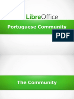 The LibreOffice Portuguese Community