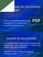 Trabajo Ley General de Sociedades