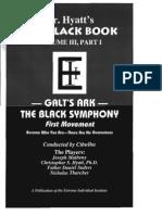 III the Black Book Volume Galts Ark Vol 01