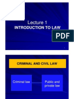 Lecture 1 - Introduction to Business Law
