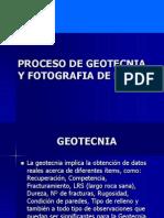 Proceso de Geotecnia Yf Otografia de Ddh