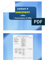 Lecture 4 - Agreement (Offer & Termination of Offer)_2