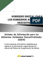 Gobierno Digital Para GADS