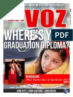 La Voz July 15 - August 15, 2013