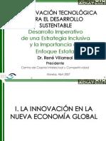 Villareal_innovacion Tecnologica Para El Desarrollo Sustentable