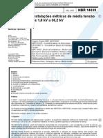 NBR 14039_Comentada - Instalações Elétrica de Média Tensão