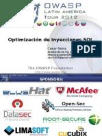 Optimizacion de SQLi