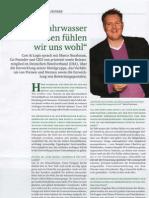 """""""Im Fahrwasser der Großen fühlen wir uns wohl"""", Interview mit Marco Nussbaum in Cost & Logis"""