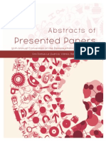 2013 PA Convention Abstracts of Presented Papers