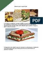 Alimentos Que Te Cargan La Pila