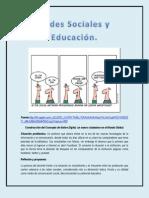 Reflexion Redes Sociales y Educacion