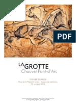 Dossier de Presse Grotte Chauvet Pont Darc
