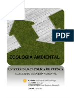 ecologia ambiental