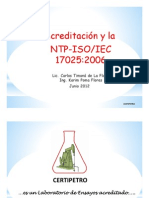 Exposicion CERTIPETRO 17025