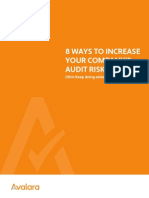 8 Ways to Increase Your Company's Audit Risk (Hint