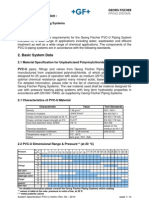 System Specification - PVC-U Metric