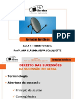 14-04-2007 - Direito civil - Profª Ana Cláudia Scalquette