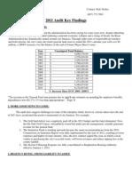 2011 Audit Key Findings.doc