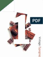 Potlatch Design Series Typography