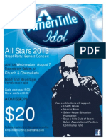 AmeriTitle Idol - All-Stars 2013