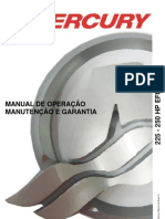 Manual de Proprietario Do Motor de Popa Mercury 225-250 HP EFI a[1]