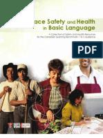 Workplace Safety Basic Language