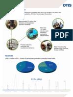 Otis Fact Sheet 2012 With Milestones