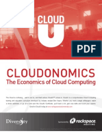 Cloudonomics-The Economics of Cloud Computing
