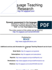 Dynamic Assessment in the Language Classroom