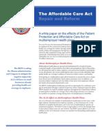 ACA White Paper