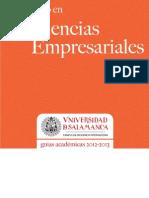 Diplomado en Ciencias Empresariales