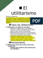 El Utilitarismo